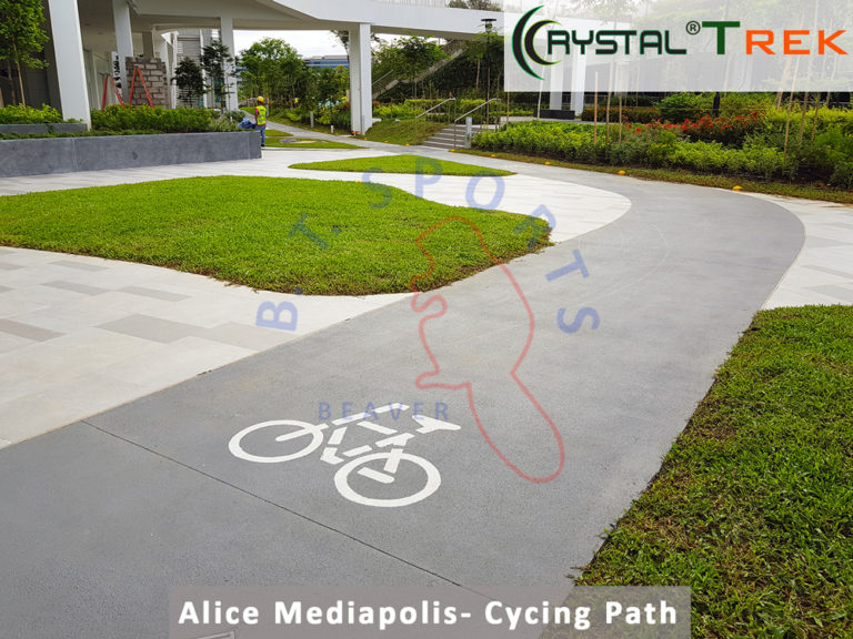 Alice Mediapolis- Cycling Path