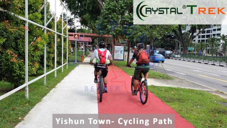 Ang Mo Kio Town- Cycling Path
