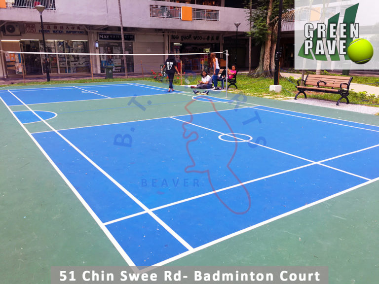 Blk 51 Chin Swee Rd- Badminton Court