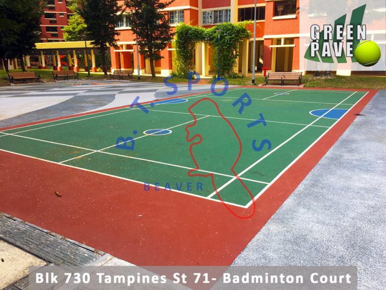 Blk 730 Tampines St 71- Badminton Court