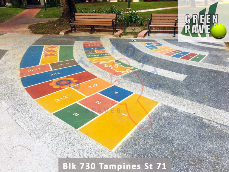 Blk 730 Tampines St 71- Play Area