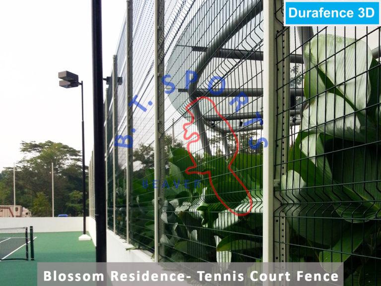 Blossom-Residence-Condo--Tennis-Court-Fence