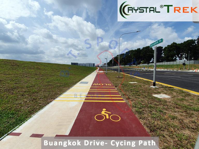Buangkok Drive- Cycling Path