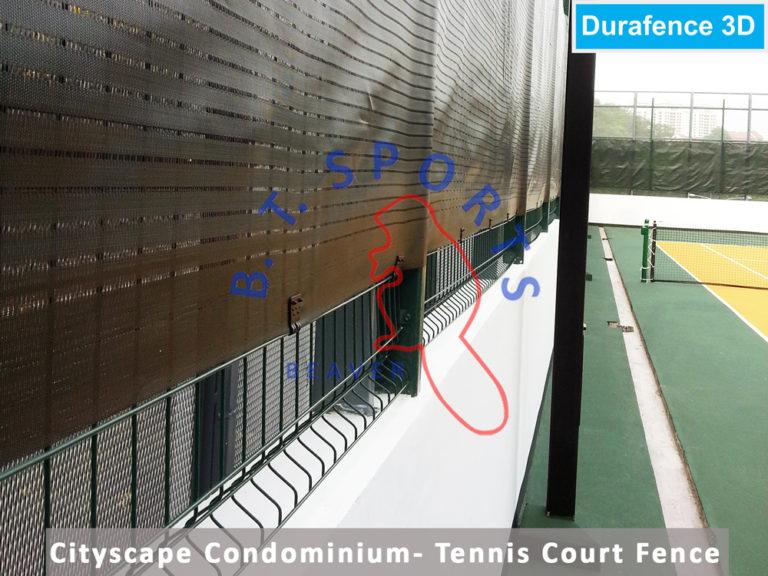 Cityscape-Condo--Tennis-Court-Fence