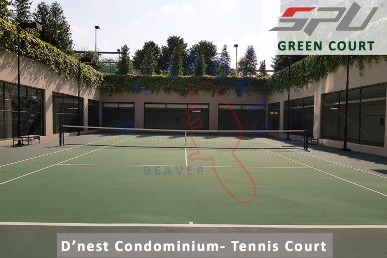 Dnest Condo- Tennis Court