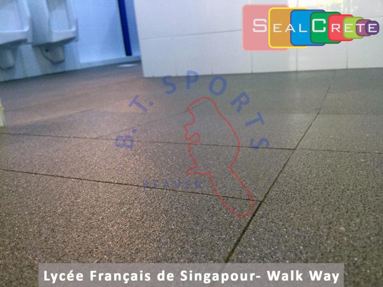 Lycée Français de Singapour- Walk Way