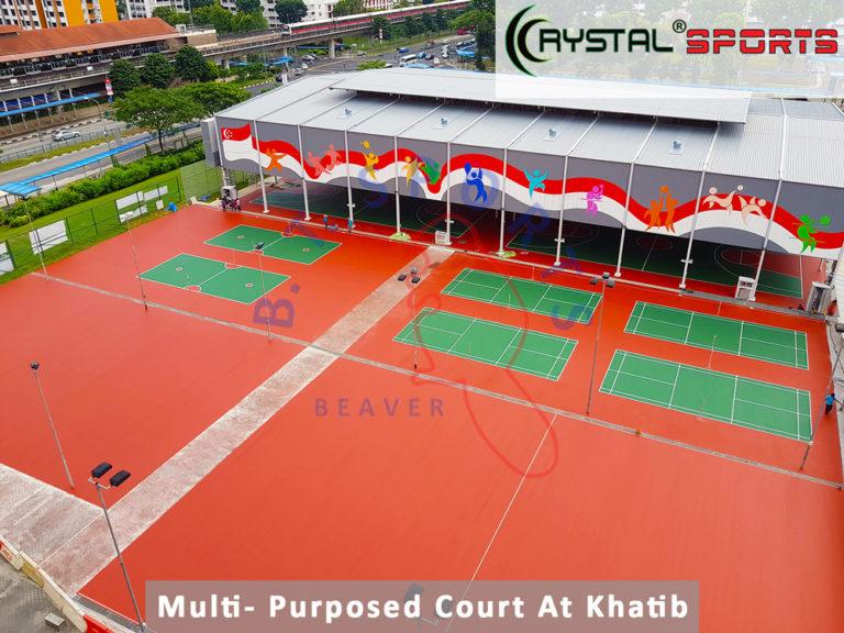 Multi--Purpose-Court-At-Khatib