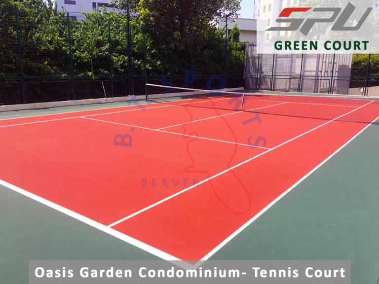 Oasis Garden Condo- Tennis Court