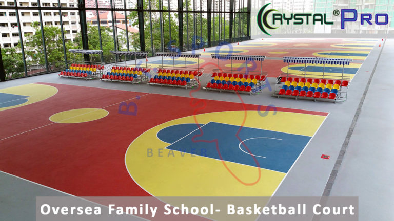 Oversea Family School- Basketball Court