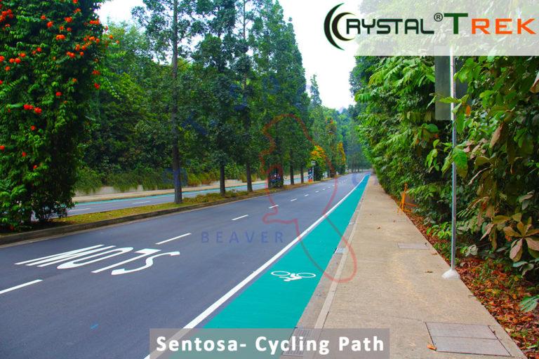 Sentosa- Cycling Track