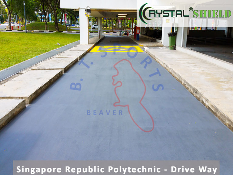 Singapore-Republic-Polytechnic--Drive-Way
