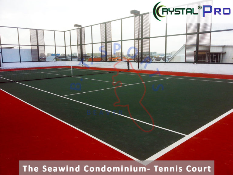 The Seawind Condo- Tennis Court