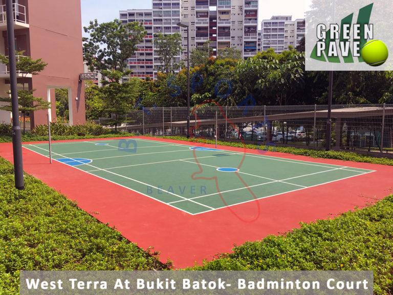West Terra Bukit Batok-Badminton Court